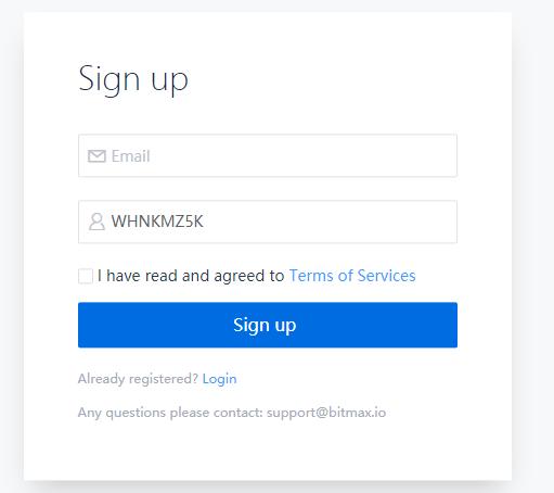Bitmax referral code WHNKMZ5K